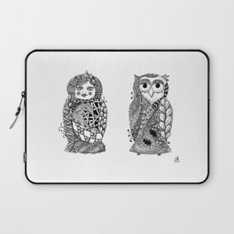 Babushka n Owl Laptop Sleeve