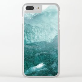 Sea Waves In Italy Clear iPhone Case