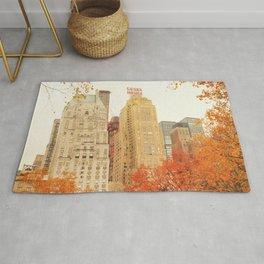 Autumn - Central Park - Fall Foliage - New York City Rug