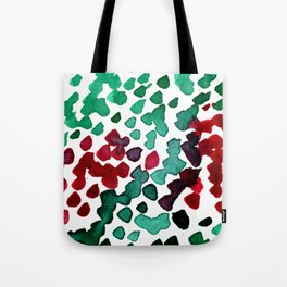 trickle no3...two hearts on grass Tote Bag