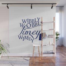 Wibbly Wobbly Timey Wimey Wall Mural