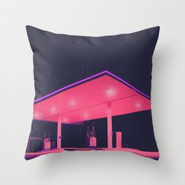 Station Throw Pillow