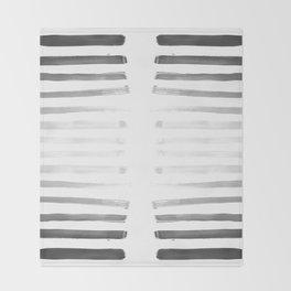War paint Throw Blanket