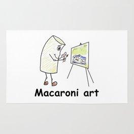 Macaroni Art Rug