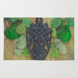 cast iron shield Rug