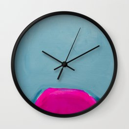 Colour Fields 3 Wall Clock