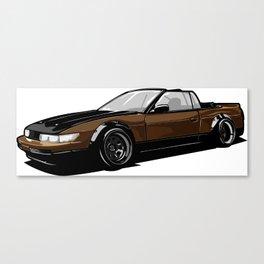 Nissan 240sx Vert Canvas Print