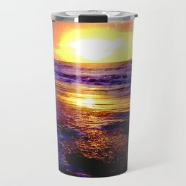 Atlantic Ocean Sunrise Travel Mug