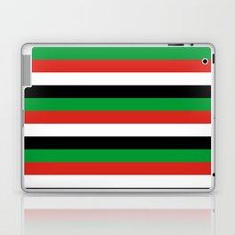 libya Sudan Syria United Arab Emirates Western Sahara flag stripes Laptop & iPad Skin