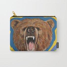 Retro Bear Carry-All Pouch