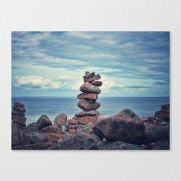 Stacked Zen Canvas Print
