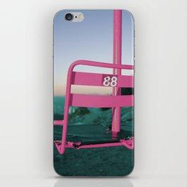 Pop Art 80's Chair Lift iPhone Skin
