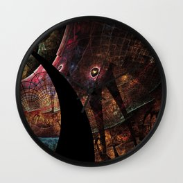 Torn Dreams Wall Clock
