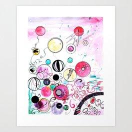 Fuchsia Art Print