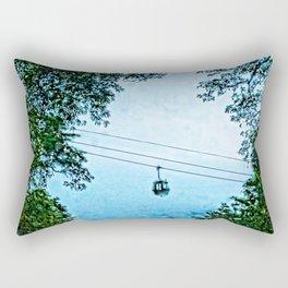 Travelling the mist Rectangular Pillow