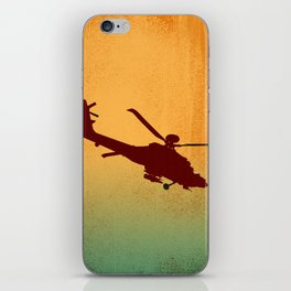 Copter at Sunrise iPhone Skin