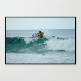 Surfer Chick Canvas Print