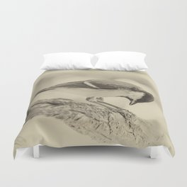 small bow Duvet Cover