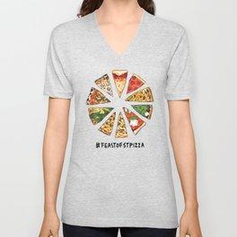 Feast of St. Pizza: Philadelphia Edition Unisex V-Neck