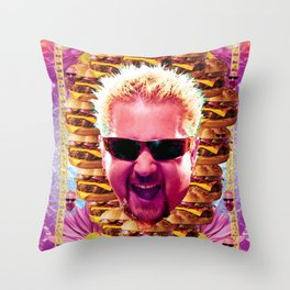 guy fieri's dank frootie glaze Throw Pillow