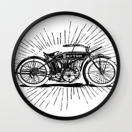 Ready to Roost Wall Clock