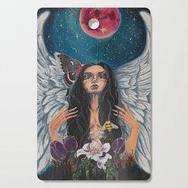 Mother Nature Angel Cutting Board