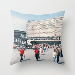 East Berlin Alexanderplatz  Throw Pillow