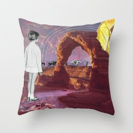 Delicate Gem Throw Pillow