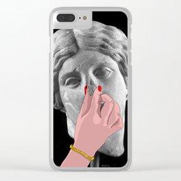 Oggi non è aria Clear iPhone Case