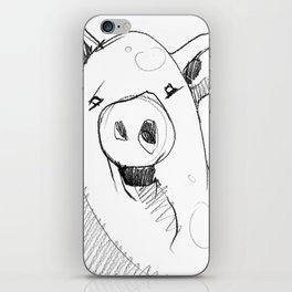 DSA - THE PIG iPhone Skin