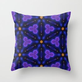 Cosmic Dreams seamless pattern Throw Pillow