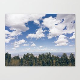 Sandia Crest Canvas Print