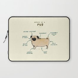 Anatomy of a Pug Laptop Sleeve