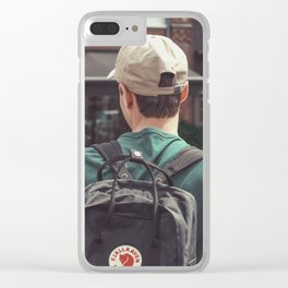 lost boy Clear iPhone Case