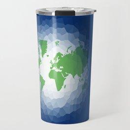 The World in Ocean  Travel Mug