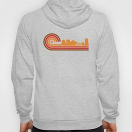 Retro Norfolk Virginia Skyline Hoody
