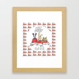 Kids Art Bag Framed Art Print