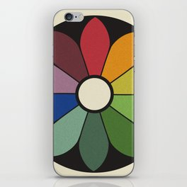 James Ward's Chromatic Circle iPhone Skin