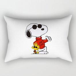 Cute Snoopy dog joe cool Rectangular Pillow