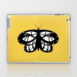 Les Papillons (Yellow) Laptop & iPad Skin