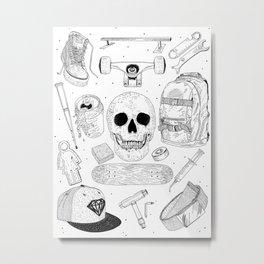 SK8 5tuff Metal Print