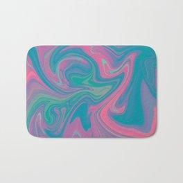 Acid marble dream Bath Mat