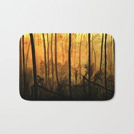 Fire Forest Bath Mat