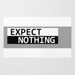 Expect Nothing Rug