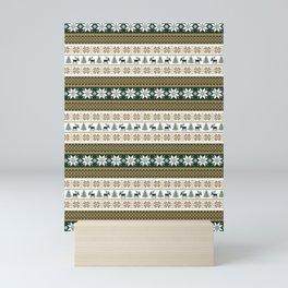Scandinavian pattern Mini Art Print