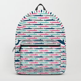 Colorful Submarine Squadron Backpack