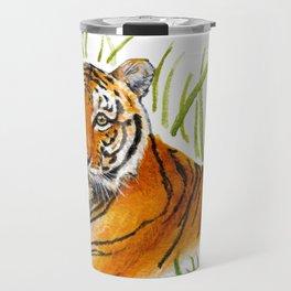 Zeus Tiger Bright Eyes Travel Mug