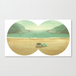 Le temps de l'amour, le temps des copains et de l'aventure. Canvas Print