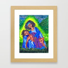 Pieta 2 Framed Art Print
