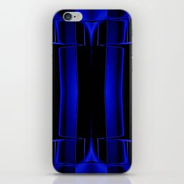 Playing in Blue iPhone Skin